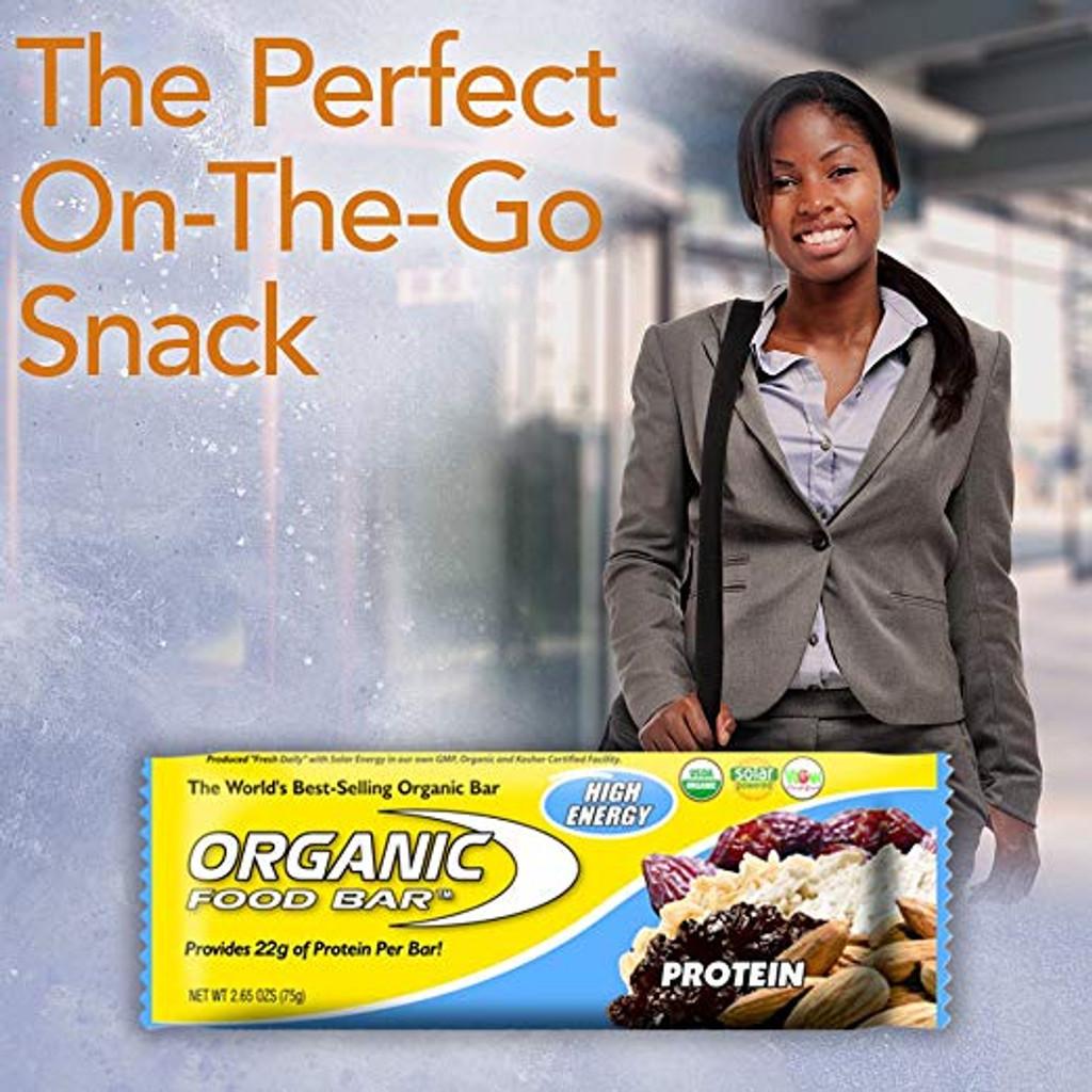 Protein - Organic Food Bar - Box of 12