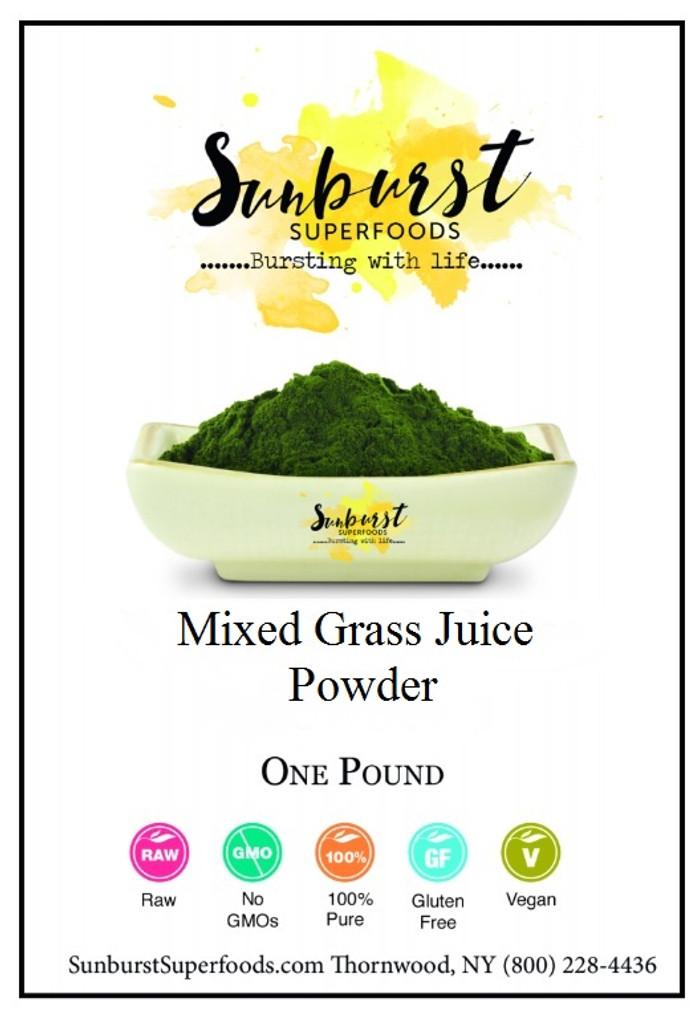Mixed Grass Juice Powder Blend