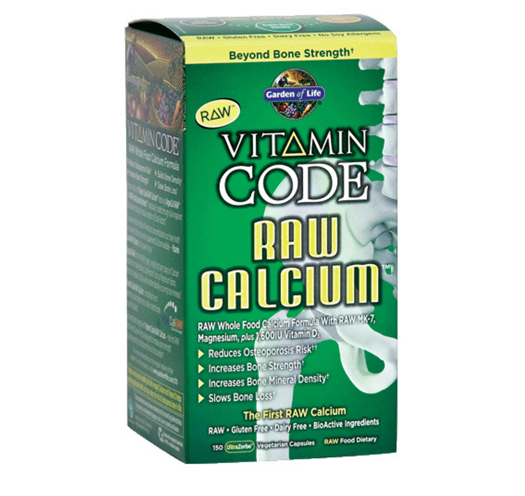 Garden of Life RAW Calcium