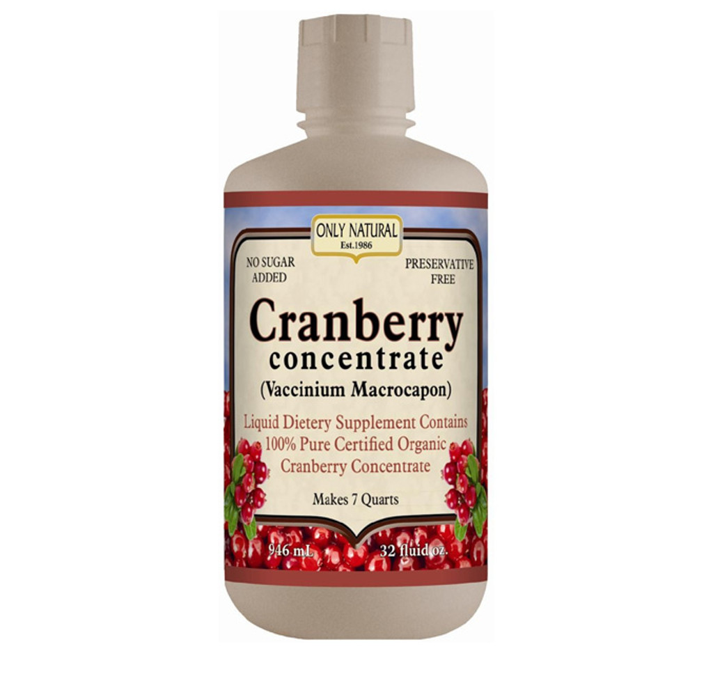 Only Natural Organic Cranberry Concentrate