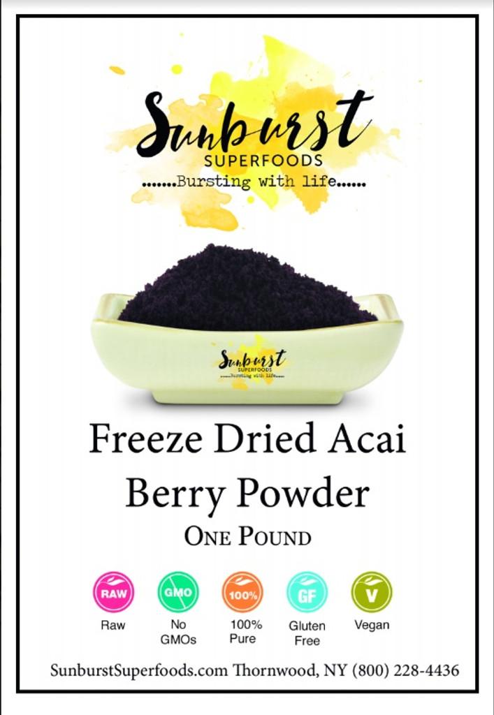 Acai Berry Powder (Freeze-Dried)
