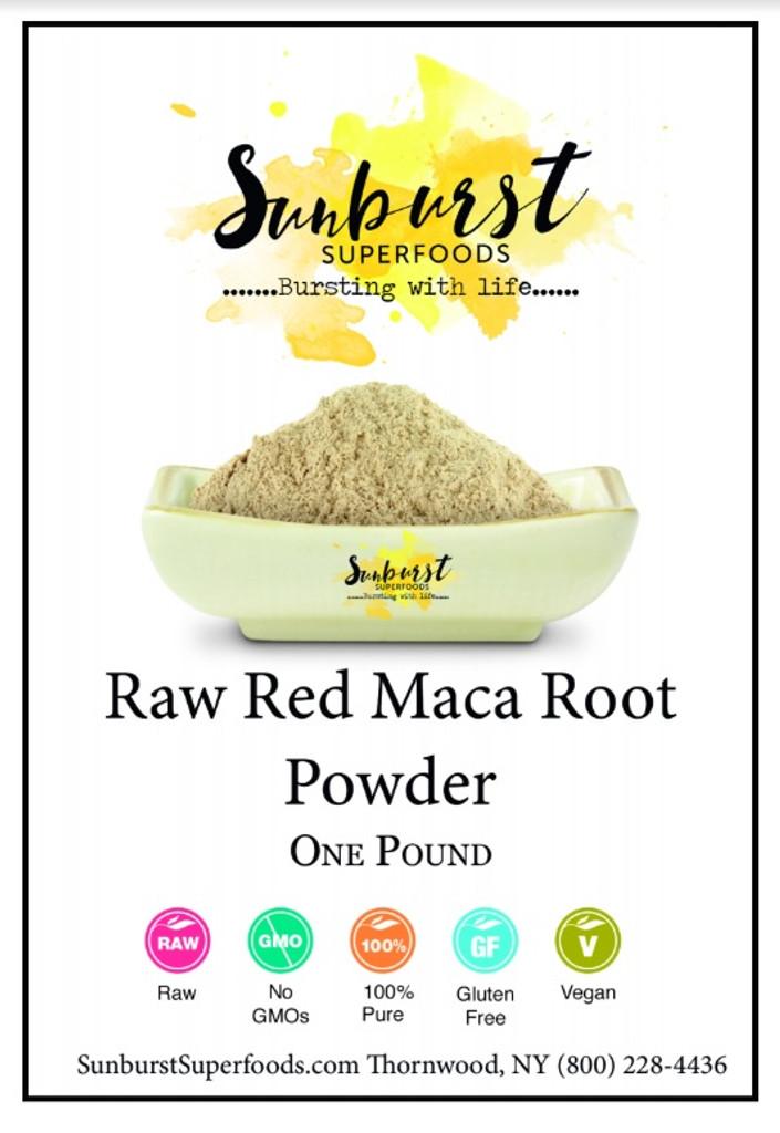 Red Maca Root Powder