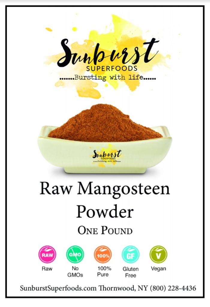 Mangosteen Powder (Raw)