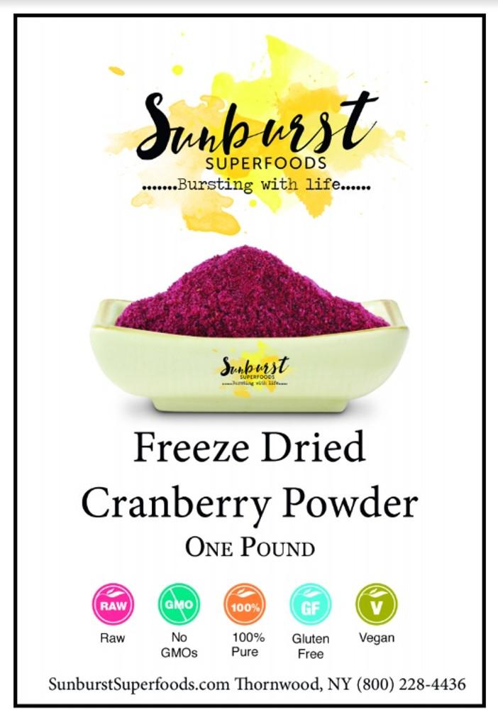 Cranberry Powder (Freeze-Dried)