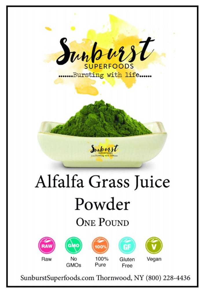 Alfalfa Grass Juice Powder