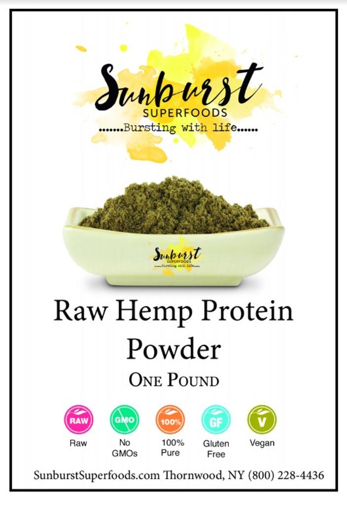 Hemp Protein Powder (SHIPS BY 11/5)