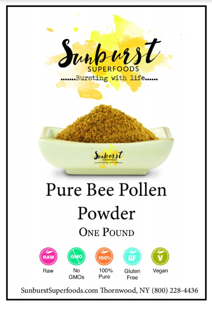 Pure Bee Pollen Powder