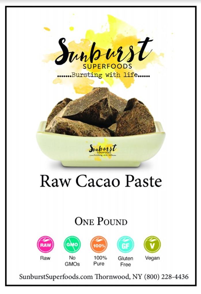 Cacao Paste (Raw)