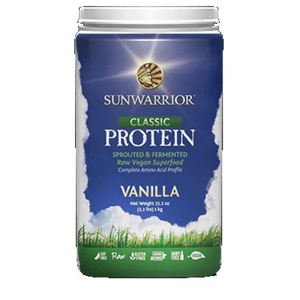 Sun Warrior Raw Vegan Protein Powder
