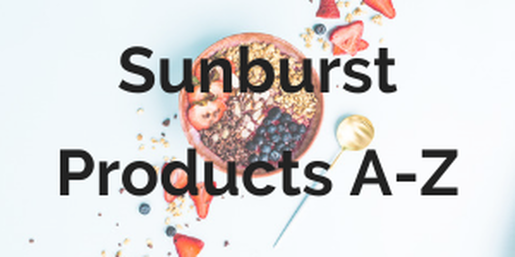 Sunburst Products A-Z