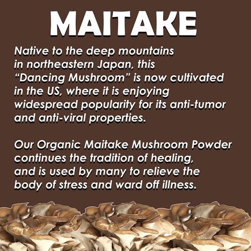Organic Maitake Mushroom Powder