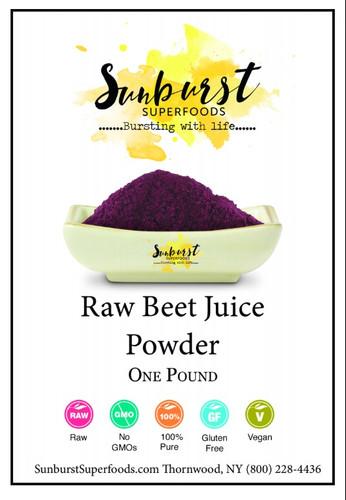 Beet Juice Powder (SHIPS BY 12/11)