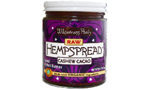Wilderness Poets Raw Organic Cashew Cacao Hemp Spread