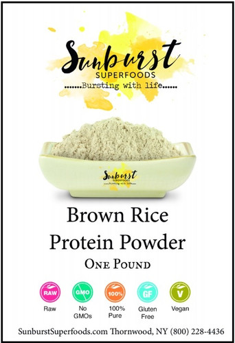 Bio-Fermented Brown Rice Protein Powder
