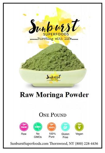 Raw Moringa Powder (SHIPS BY 12/9)
