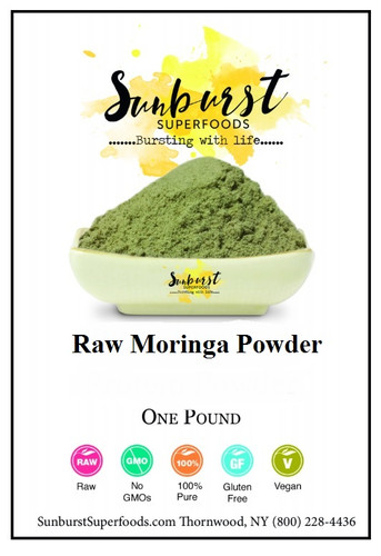 Raw Moringa Powder