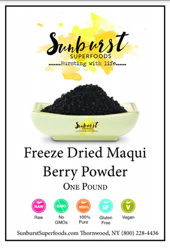 Maqui Berry Powder (Freeze-Dried)
