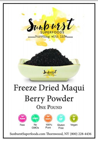 Maqui Berry Powder (Freeze-Dried) (SHIPS BY 12/4)