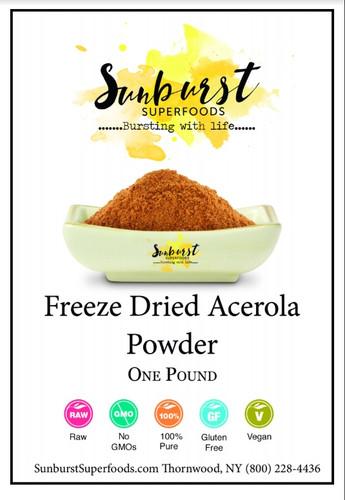 Acerola Powder (Freeze-Dried)