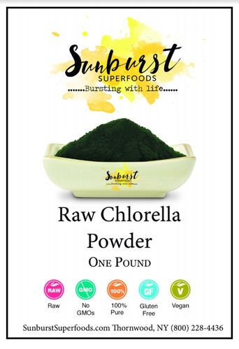 Cracked-Cell Chlorella Powder (Raw)