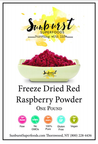 Red Raspberry Powder (Freeze-Dried)