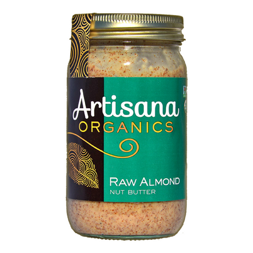 Artisana Raw Organic Almond Butter - 14 Ounce Jar