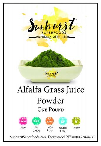 Alfalfa Grass Juice Powder (SHIPS BY 12/4)