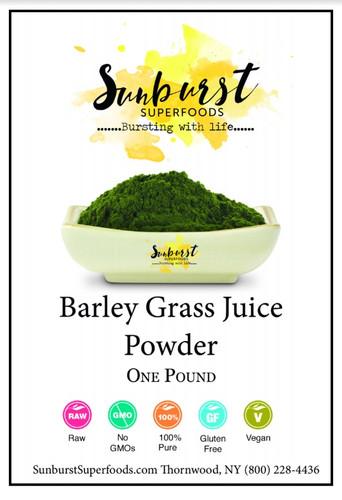 Barley Grass Juice Powder (SHIPS BY 10/9)