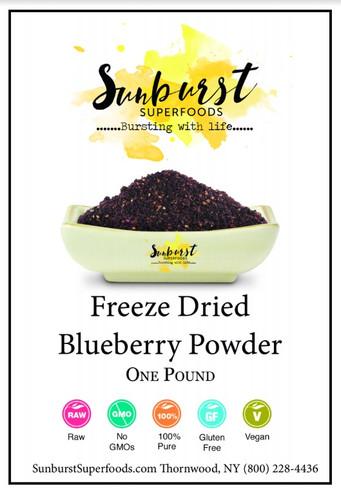 Blueberry Powder (Freeze-Dried)