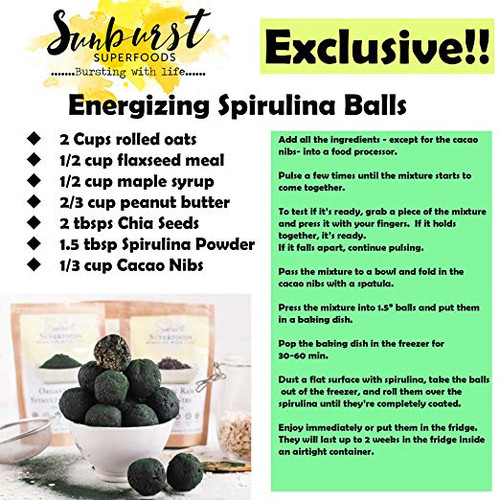 Spirulina Powder (SHIPS BY 9/28)
