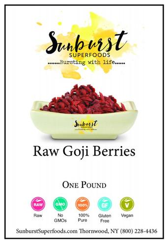 Goji Berries (Raw) (SHIPS BY 12/7)