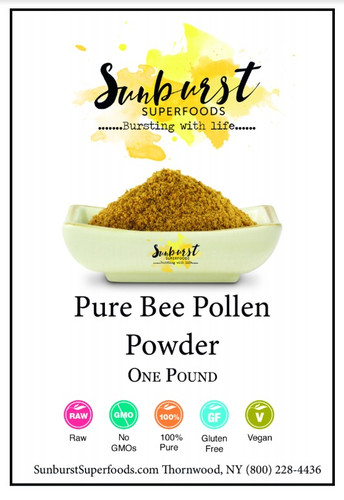 Pure Bee Pollen Powder
