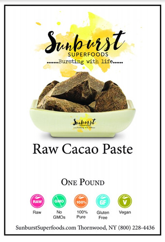 Cacao Paste (Raw) (SHIPS BY 12/7)