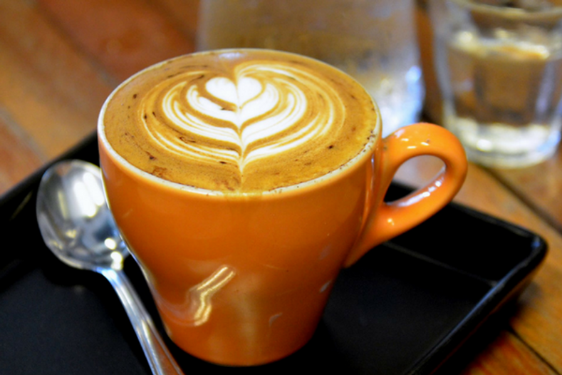Healthy Pumpkin Spice Latte with Protein
