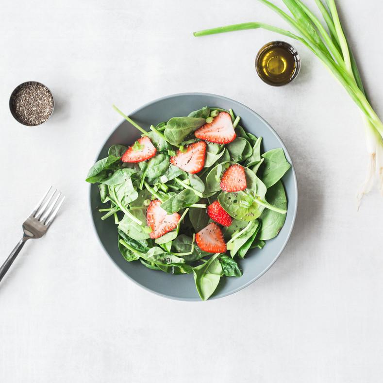 Strawberry Chia Superfood Salad | Sunburst Superfoods