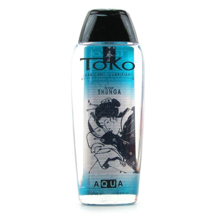 Toko Aqua Water Based Lubricant 5.5oz/163mL at Bed Time Toys