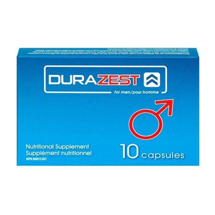 DuraZest for Men in 10 Pack at Bed Time Toys