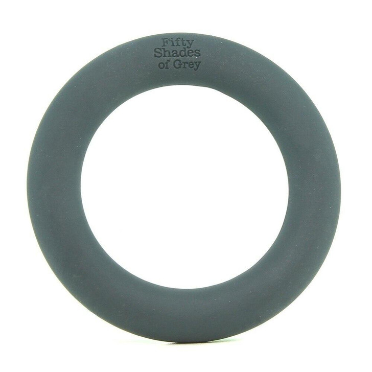 A Perfect Stretchy Love Ring in Grey