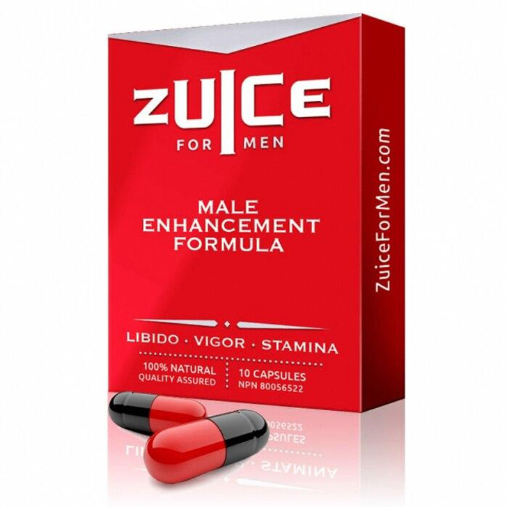 Zuice Male Enhancement Formula in 10 Pack at Bed Time Toys