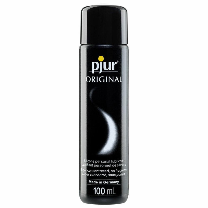 pjur Original Silicone Lubricant in 3.4oz/100mL at Bed Time Toys