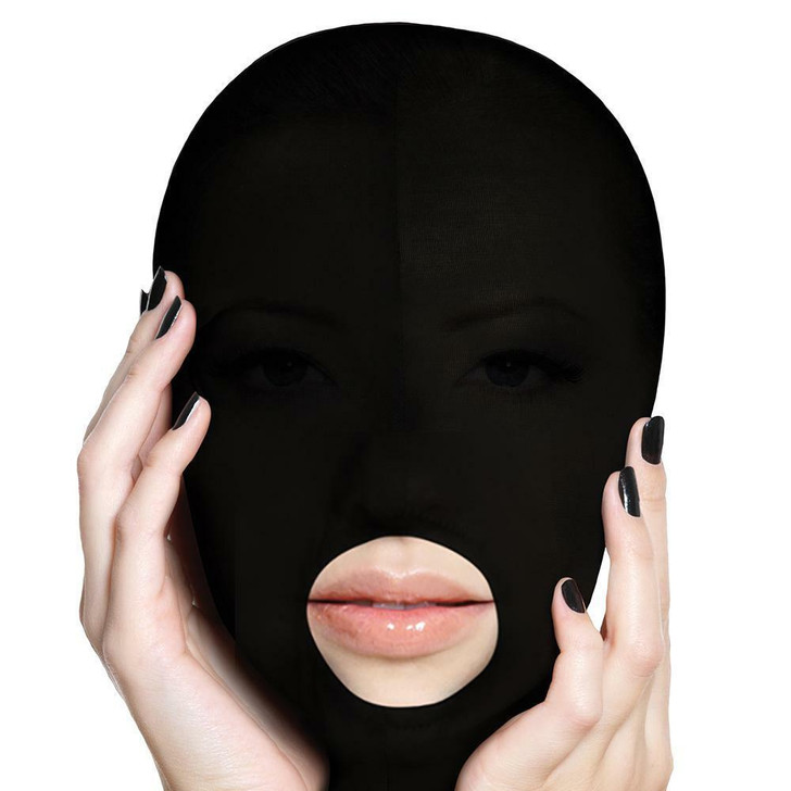 Ouch! Submission Mask in Black at Bed Time Toys