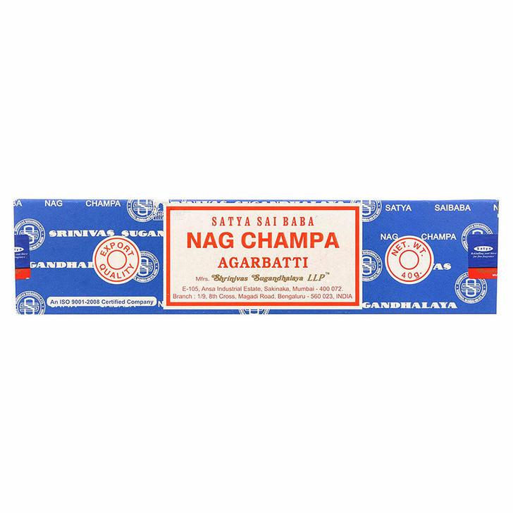 Satya Sai Baba Nag Champa Agarbatti 40g at Bed Time Toys