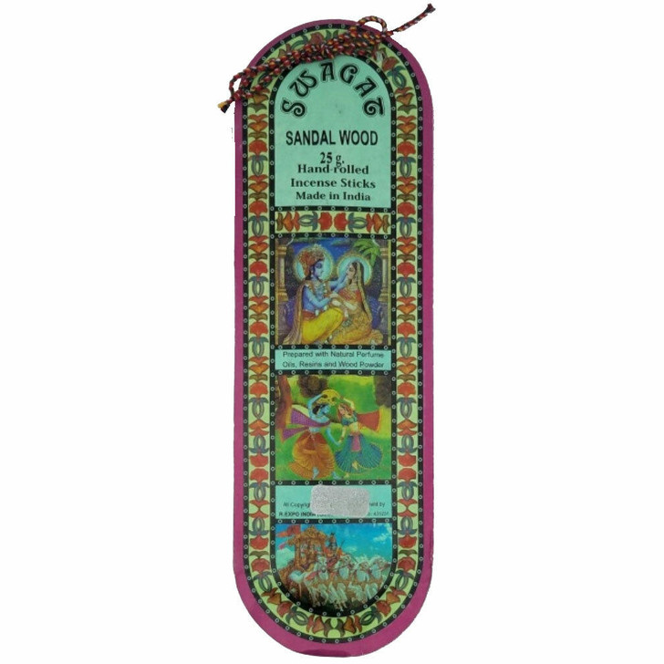 Swagat Incense in Sandalwood 25g at Bed Time Toys
