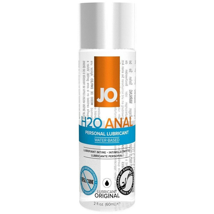 H2O Personal Anal Lubricant at Bed Time Toys