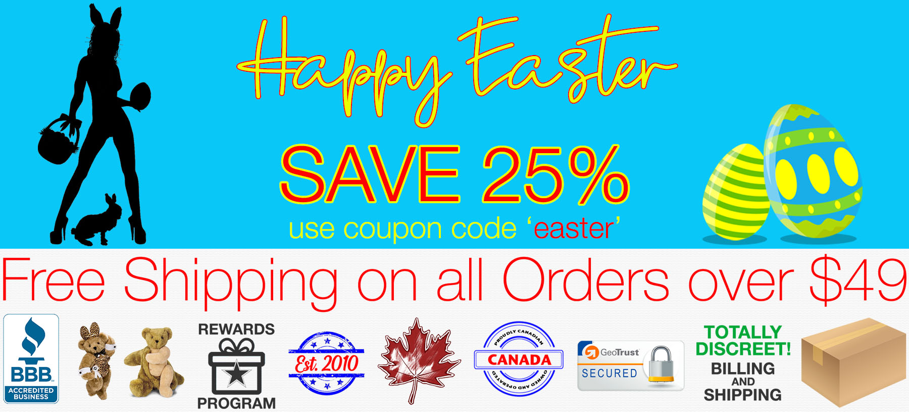 Bed Time Toys, Easter Sex Toy Sale, Sex Toys Canada