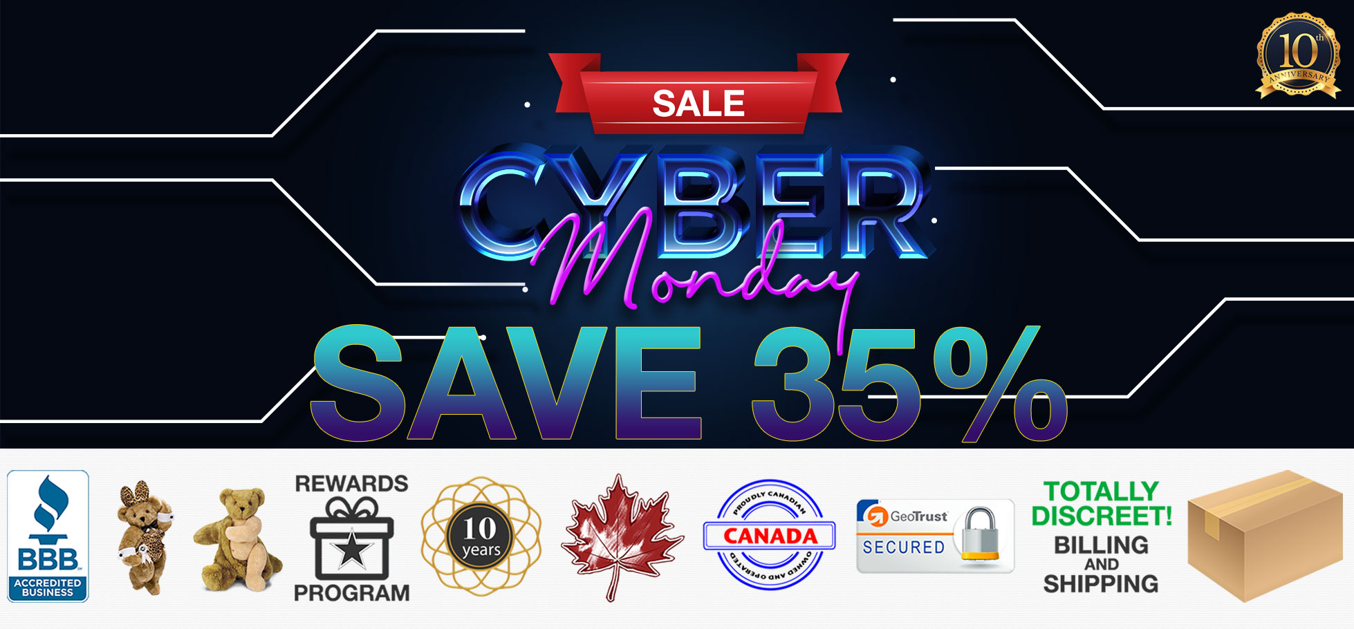 Bed Time Toys, Cyber Monday Sex Toy Sale, Sex Toys Canada