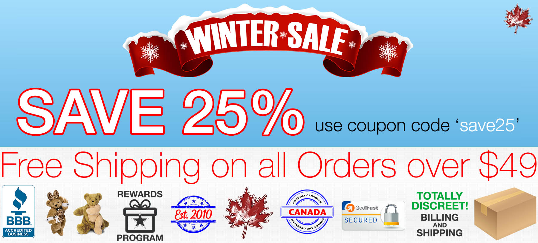 Bed Time Toys, Winter Sex Toy Sale, Sex Toys Canada