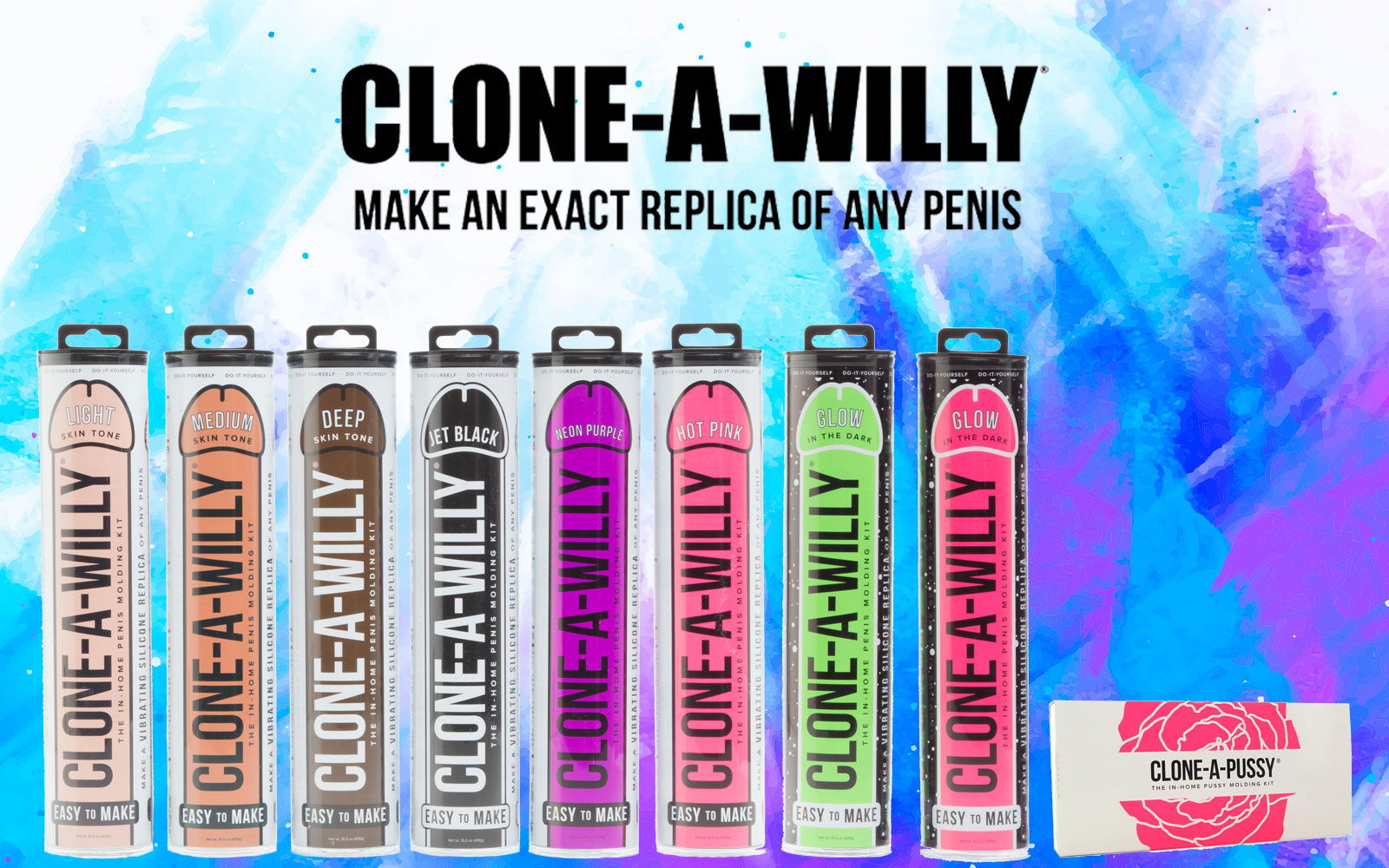 Clone-a-Willy at Bed Time Toys