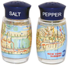 NYC MTA Subway Map Salt & Pepper Shakers