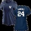 Gary Sanchez Ladies T-Shirt - Navy NY Yankees Womens T-Shirt